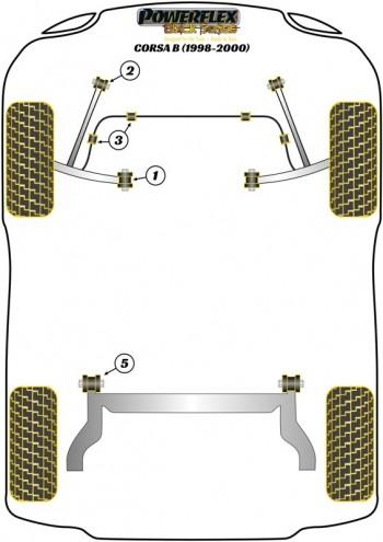 Corsa B (1998-2000)