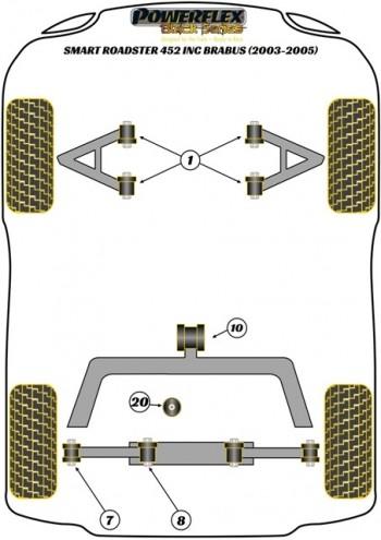 Roadster 452 inc Brabus (2003 - 2005)