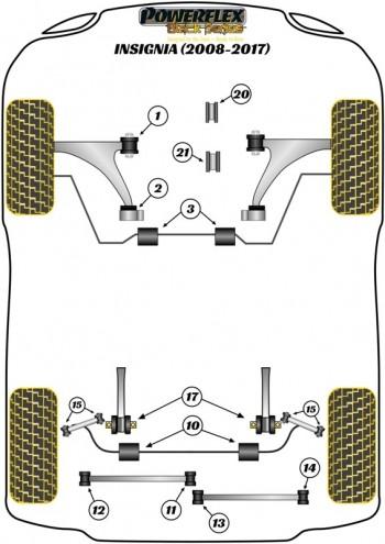 Insignia 2WD (2008-2017)