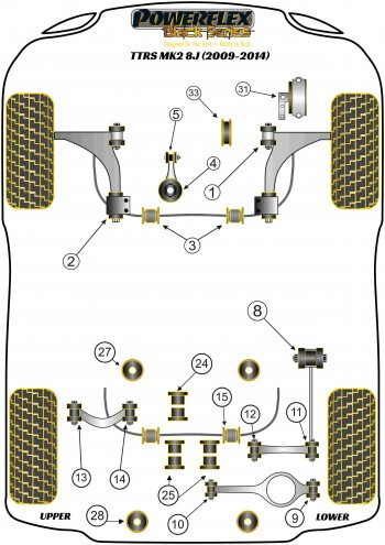 TTRS MK2 8J (2009-2014)