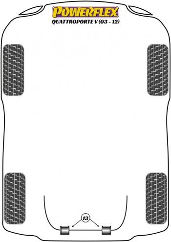 Quattroporte V (2003 - 2012)