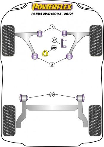 GEN 2 169 2WD (2003-2012)