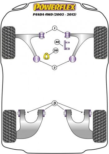 GEN 2 169 4WD (2003-2012)