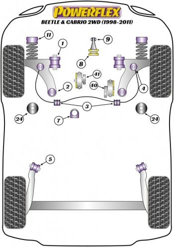 Beetle & Cabrio 2WD (1998-2011)